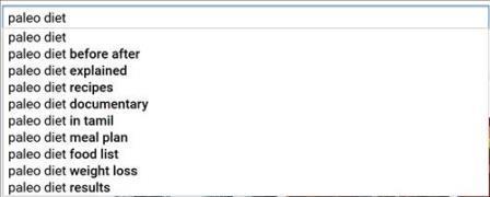 Sử dụng công cụ gợi ý từ khóa của Google