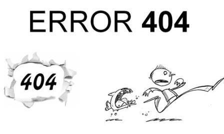 Cách khắc phục lỗi liên kết gãy 404