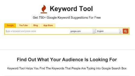 Keywordtool.io- công cụ gợi ý từ khóa