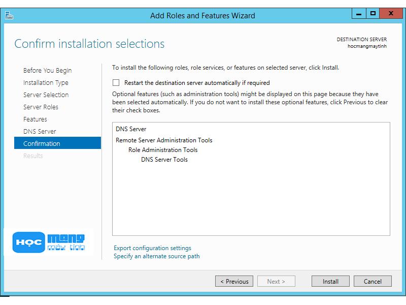 Cài đặt windows server 2012 r2