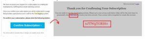 Xác nhận đăng ký tài khoản geotag