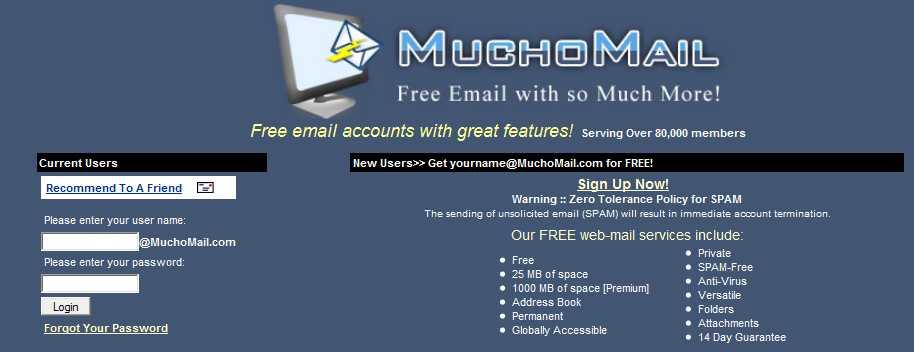 Top 10 dịch vụ thư điện tử miễn phí hàng đầu 5 (5)