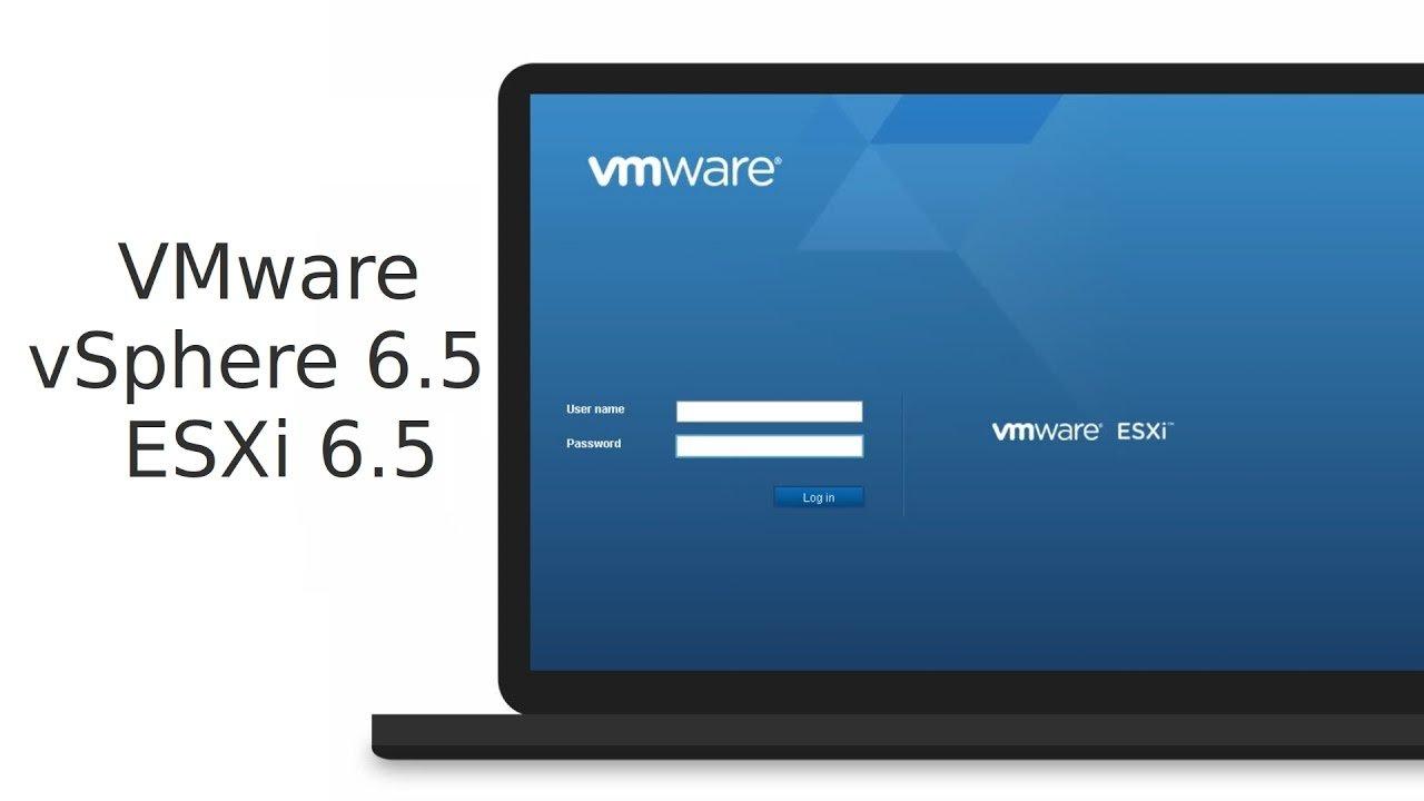 cài đặt vmware esxi 6.5