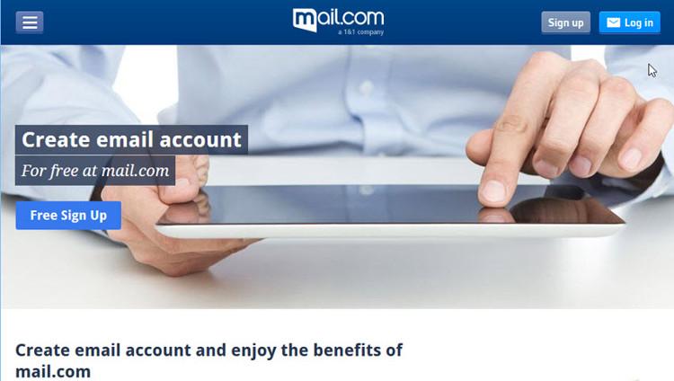 Mail.com là một nhà cung cấp dịch vụ email miễn phí.
